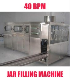 Automatic Jar Filling Machine for Mineral Water Plants 40 BPM