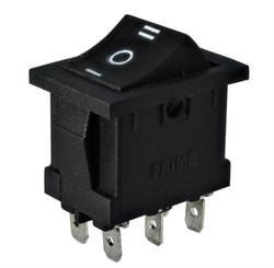 DPDT Center Off Rocker Switch