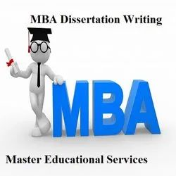 MBA Dissertation Writing