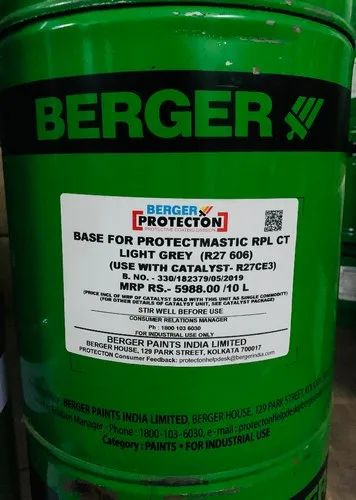 Berger Paints Berger Protectomastic Paint Self Priming High Build Coating Wholesale Trader From Mumbai