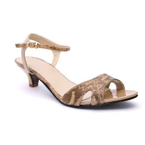 7a682a25b15 Ladies Low Heel Leather Sandal at Rs 500  pair
