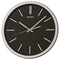 New Year QXA676KN Seiko Analog Plastic Wall Clock, For Home, Size: 31.1 X 31.1 X 4.4 Cm