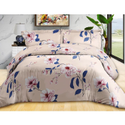 Flower Printed Cotton Bed Sheets