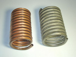 Stainless Steel Helical Pipe Coils