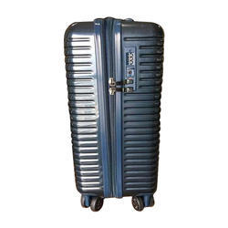 ABS Blue Trolley Bag, For Travelling, Size: 28 Inch