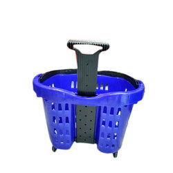 45 Liter Plastic Shopping Trolley