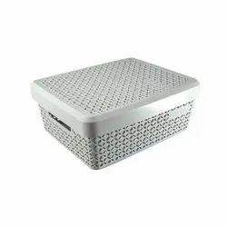 Medium Plastic Classy Basket