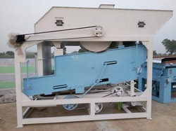 Soybean Seed Cleaning and Grading Unit