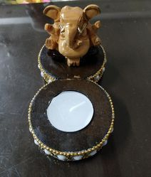 GANESHA WITH DIYA