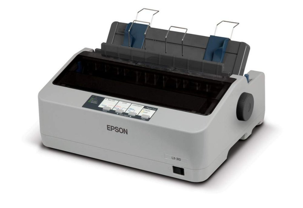 Epson LX-310 Black & White Impact Dot Matrix Single-Functio...