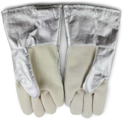 Alluminized Kevlar Gloves