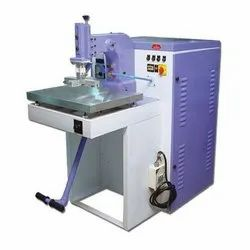 Leather Rexine Embossing Machine