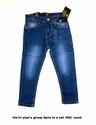 Casual Wear Zipper Kids Denims, Age Group: 4-14 Years