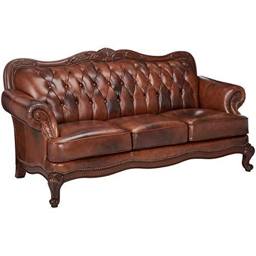 Leather Victorian Sofa At Rs 25000