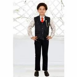 Cotton Party Wear Kids Pant Shirt, Age: 3 To 10 Year