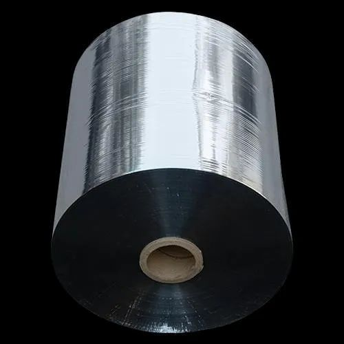 SBM14 Silver Metalized Bopp Film, Packaging Type: Roll, Thickness: 8 Mm