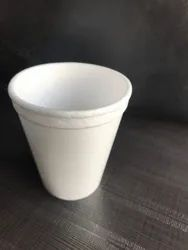 White Plain Disposable Thermocol Cup, Capacity: 200mL