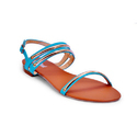 Casual Ladies Designer Flat Sandals, Size: 36 To 41 (euro Size)