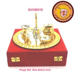 Pooja Set Brass