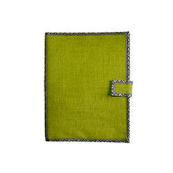 Green A4 Sizes Jute Files Folders