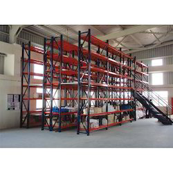 Mezzanine Floor Two Tier Racks