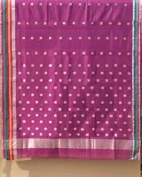 LAL10 5.5 m (separate blouse piece) Chanderi Sarees