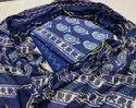 Bagru Hand Block Print Katha Work Dress Materials