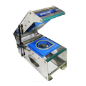 Balaji Packers Pet Glass Sealing Machine, Capacity: 350 Cups/hr