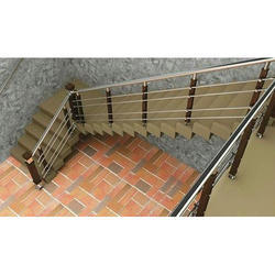 Stainless Steel Floor Railing