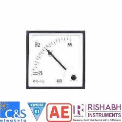 Blinking Electronic LED Type Analog Frequency Meter, आवृत्ति