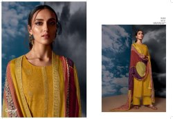 Ganga Megh 8401-8409 Series Fancy Salwar Suits Catalogue