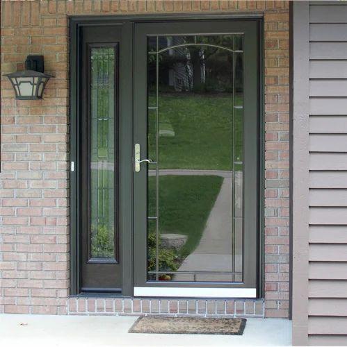 Decorative Aluminium Door at Rs 180 /square feet | Aluminium Door