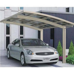 Prefabricated Car Parking Shed