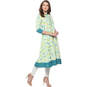 Casual Anarkali Cotton Kurti