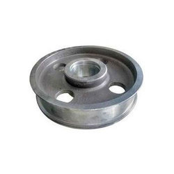 Round Flat Belt Pulley Casting