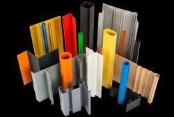 Blue And Transparent PVC Profiles