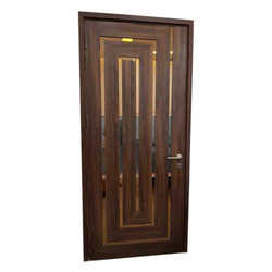 Wooden Brown Exterior Door