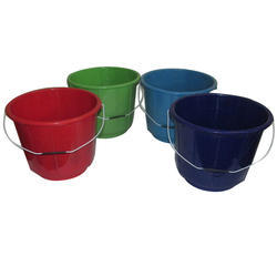 Plain Water Plastic Bucket
