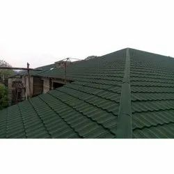 Green Tile Roofing Sheet