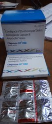 Combipack Of Clarithromycin Tablet, Pantaprazole Capsule & Amoxycillin Tablets