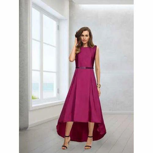 4c72b026db4212 Women Western Stylish Party Wear Gown