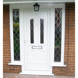 Toughened Glass UPVC Door
