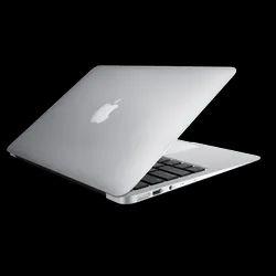 Silver Apple MacBook Air, Hard Drive Size: Less than 500GB