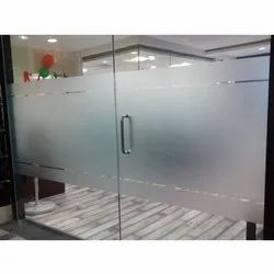 PVC Glass Film, for Door and Window Making, Packaging Type: Roll