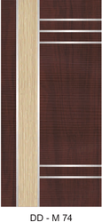 Hinged Exterior DD-M74 Bathroom Membrane Doors for Home