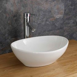 Ceramic White Wash Basin