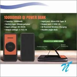 Type C Wireless Power Bank with Desktop Stand 10000 mAh, Usage: Promotional Gifts