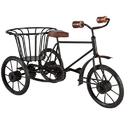 Black Iron Matel Gift Basket