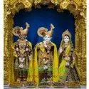 White Marble Radha Krishna Balram Moorti