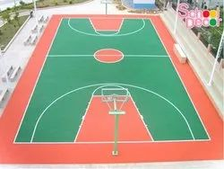 Basket Ball Court For School